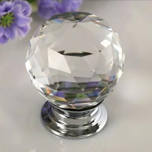 crystal kitchen cabinet furniture handle knob bck001